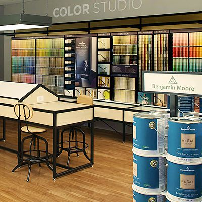 Benjamin Moore Color Studio Showroom