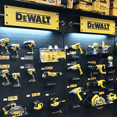 DeWalt tools display in East Hartford store