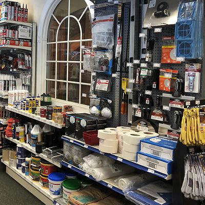 Expanded hardware department in East Hartford store