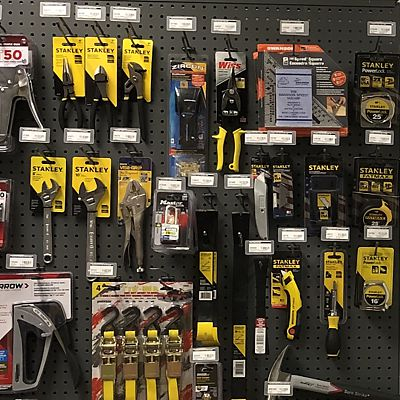 Stanley hand tools in East Hartford store