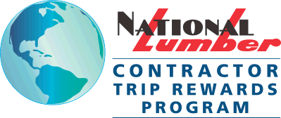 NATIONAL LUMBER Contractor Trip Rewards Program logo