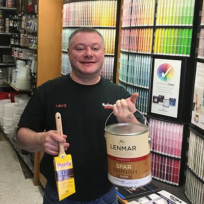 Flavio Pacheco, National Lumber Salem Paint Department