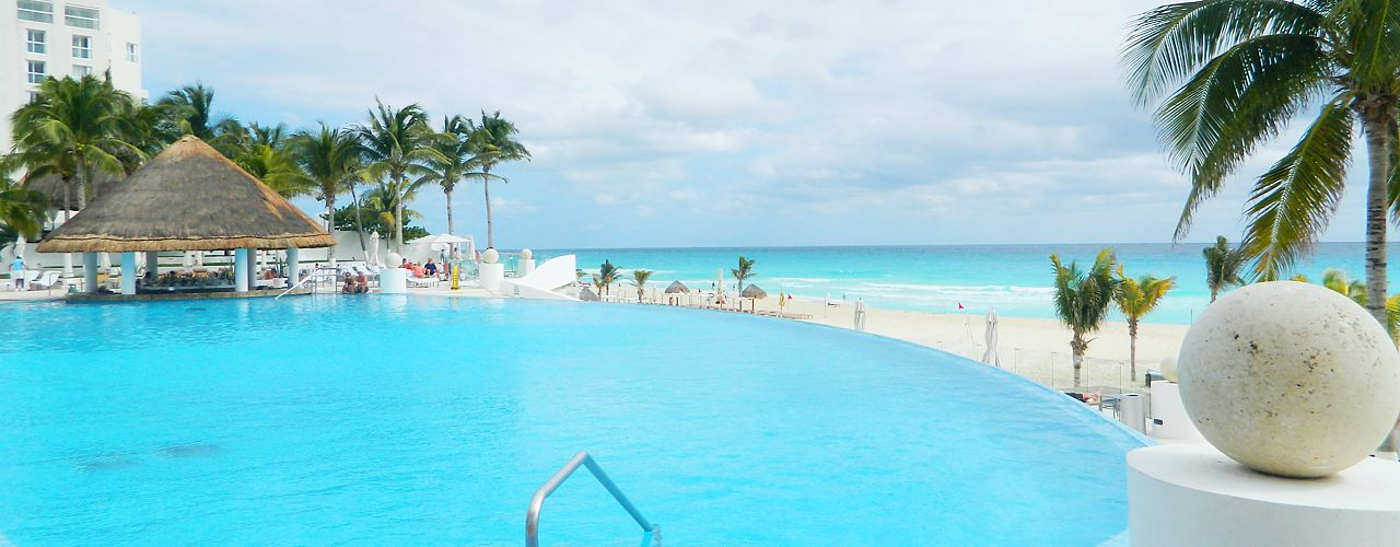 Pool at Le Blanc in Cancun